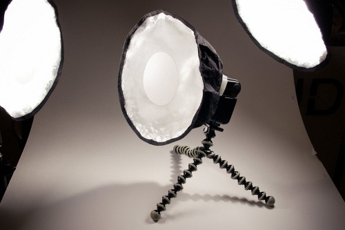 DIY: Small Circular Softboxes