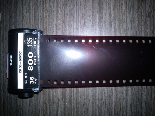 How to Make DIY Red Scale Film