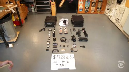 Randon Camera Kindness - Taxi Driver Returns $13,238 Of Lost Photography Gear