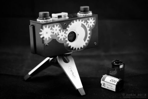 A 35mm Panoramic Pinhole Camera Comes To Life