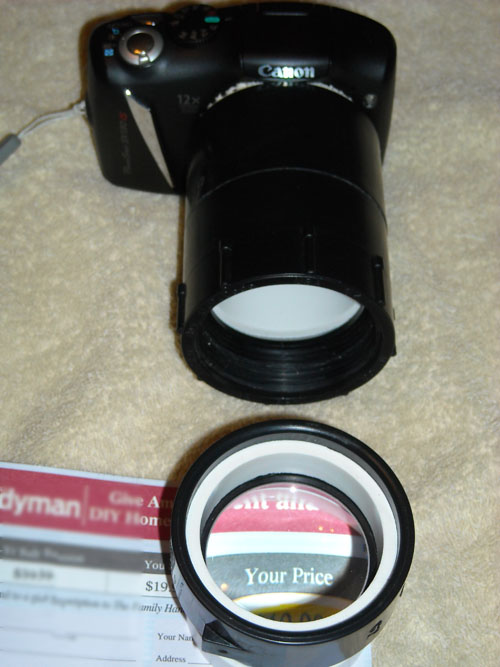 Quicky: Fun & Easy Macro Filter With PVC and Magnifying Glass
