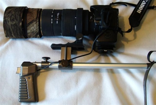 How to Convert A Shoulder Pod For Digital Cameras