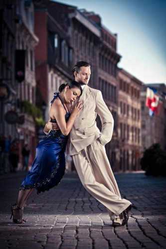 Shooting Tango In The Streets Of Montreal [BTS]