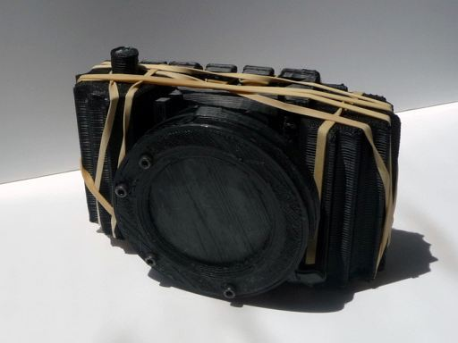 A Complete Fully Functional Pinhole Camera