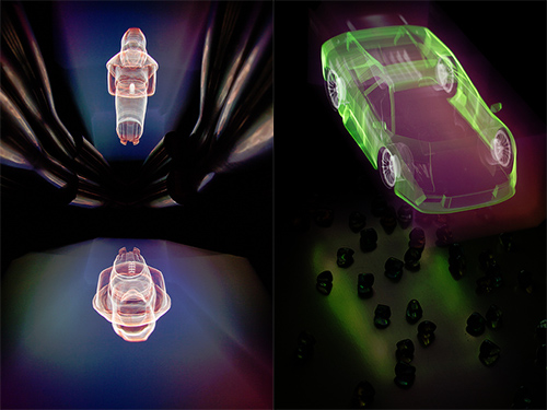 Cross Section Light Painting is to Light Painting What Holograms Are To Photographs