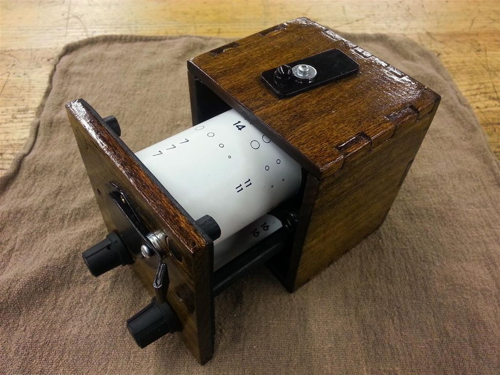 Build an Anamorphic Pinhole Camera