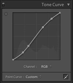 Step 2 – Tone Curve