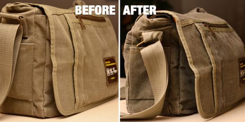 Spoil Your Camera With A DIY Waxed Camera Bag