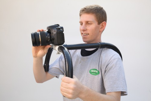 DIY DSLR PVC Shoulder Rig