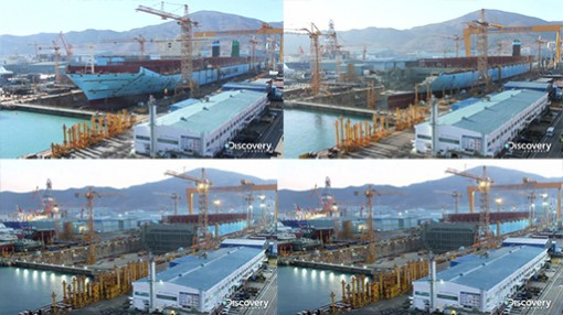 A Timelapse Showing The Biggest Ship On Earth Getting Built