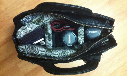 How To Make A Fashionable DIY Camera Bag