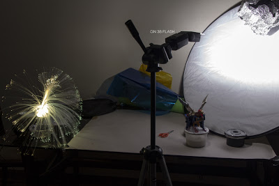 Faking Fireworks In Table Top Photography