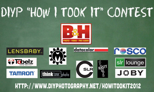 How I Took It 2012 Contest