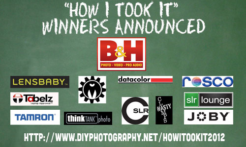The Winner Of Our How I Took It Contest Is....