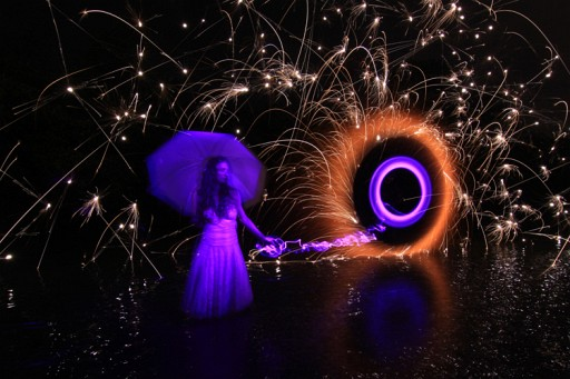 The Beautiful Light Painting Of Jason D. Page