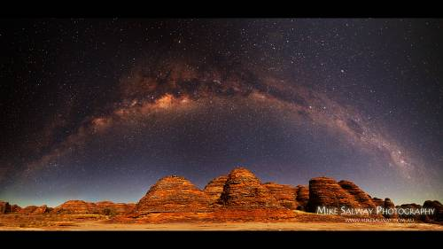 How To Photograph An Arching Milky Way over the Bungle Bungles