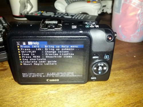 Hackin': Canon EOS M Firmare Port On The Way From Magic Lantern
