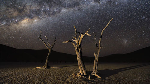 A Striking Timelapse From One Of The Darkest Places On Earth