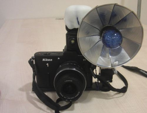 Fitting A Modern Camera With An Old-School Flashbulb