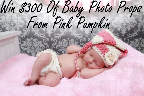 Win $300 of Baby Props from Pink Pumpkin Crochet