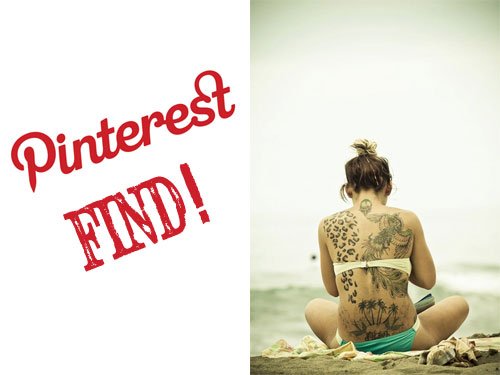 Photographer Finds Tattooed Girl By Sharing A Photo Of Her Back On Social Media