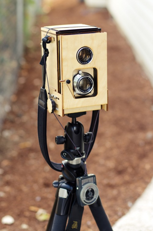 A Home Brew TLR That Shoots On Polaroid