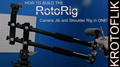 How To Build a Portable DIY Travel Jib / Shoulder Rig