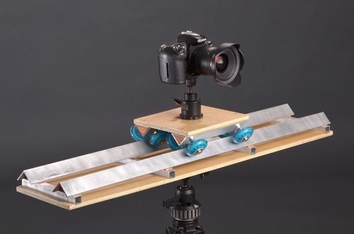 Building A Portable Video Dolly From Scraps