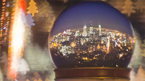 Creatively Using A Snow Globe In Time Lapse