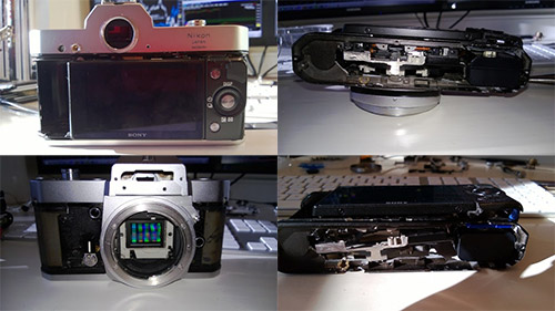 Giving An Old Nikkormat A New Life As A Sony NEX-5N
