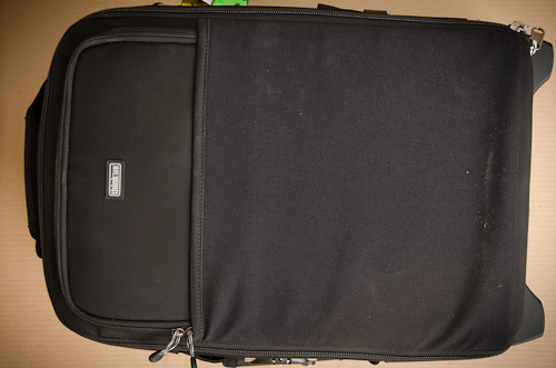 Think Tank Airport International V 2.0 Camera Bag Review - cover flap 2