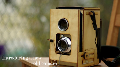 Twin Lens Reflex Polaroid Kit Coming Soon?
