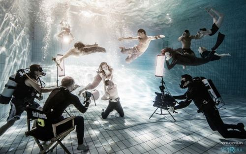Shooting Underwater Has To Be Creative Both Artistically And Technically