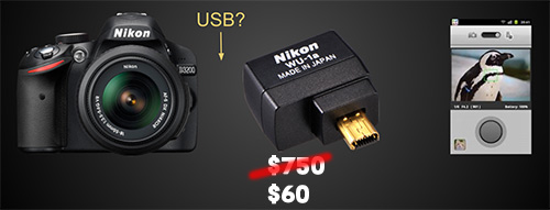 Hackign Nikon's WU-1a Wifi Dongle For Other Cameras