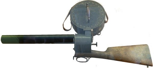 The First Movie Cameras Was This 12 FPS Rifle