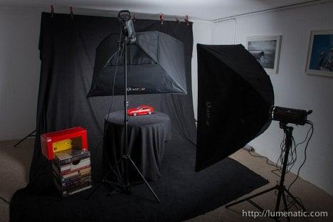 Ferrari FF Shooting - Setup 2