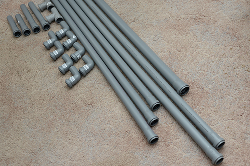 20 € PVC pipes