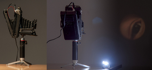 The USB-Bellows-Camera-Projector