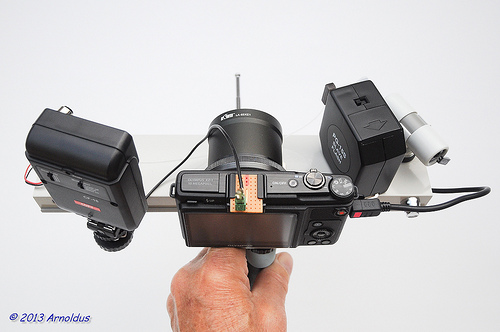 ArnoSync Mobile with Olympus XZ-1 - Top View