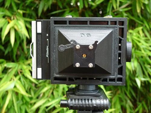 PINH5AD - A 3DPrinted 4x5 Pinhole Camera
