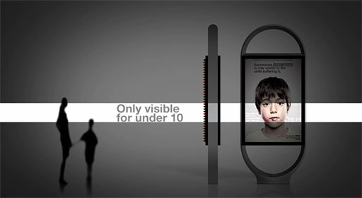 Lenticular Photo Used To Secretly Convey Hot Line Number To Abused Kids