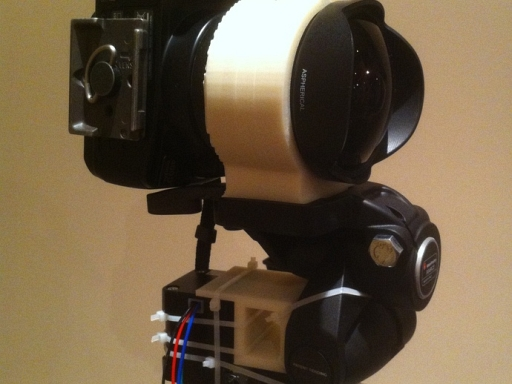 3D Printed Brackets For Panoramic Photography