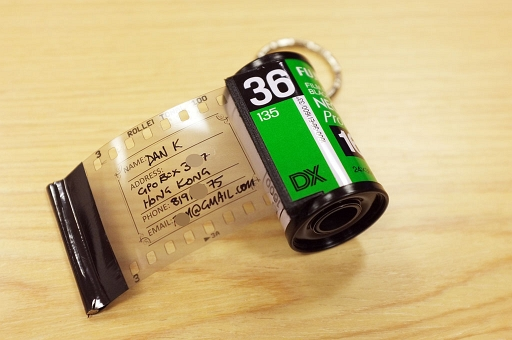 DIY - Film Cannister Bag Address Tags