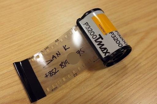 DIY - Film Cannister Bag Address Tags