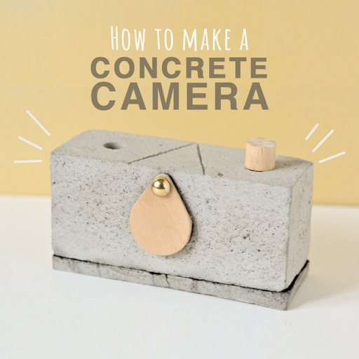 How To Make A Concrete Pinhole Camera