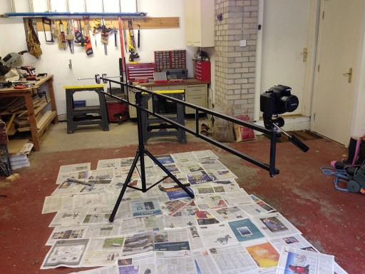 How to Build A Big Axx 4 Meters Home Made Camera Crane