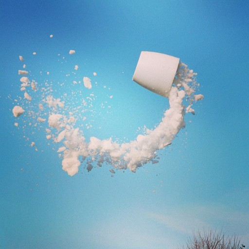 Photos Of Drinks Frozen In Mid Air