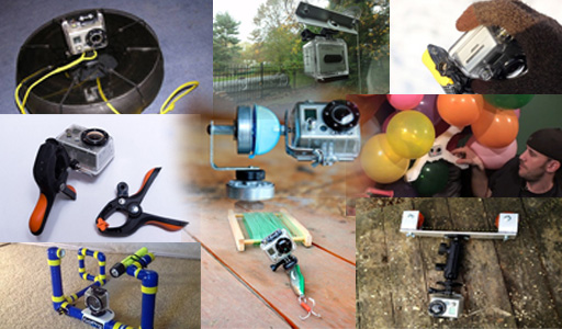 11 GoPro Rigs to Fit Every Crazy Shooting Scenario