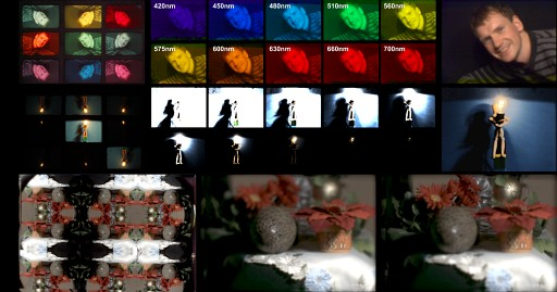 A Reconfigurable Camera Add-On for High Dynamic Range, Multispectral, Polarization, and Light-Field Imaging