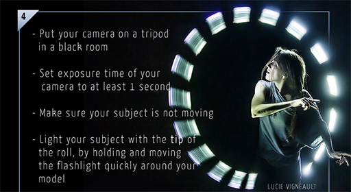 "How 360º Lightpainting, ""Bullet Time"" Photos Are Made"